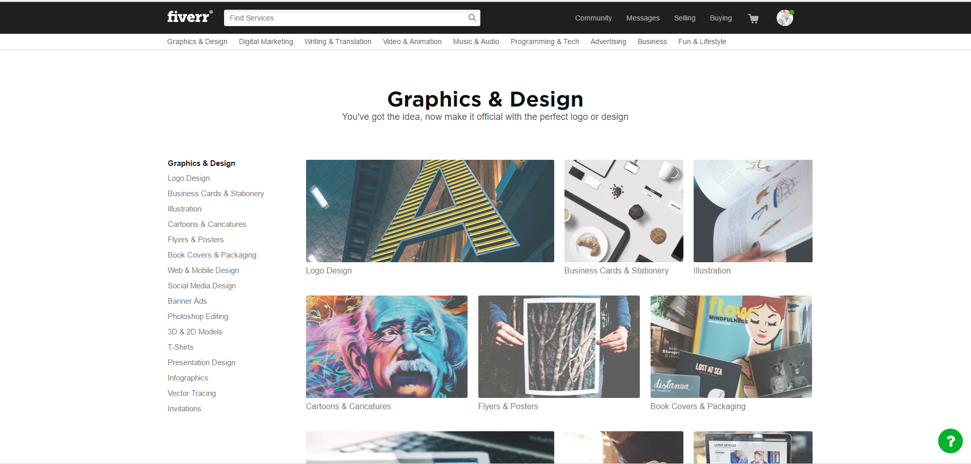Fiverr - Graphic Design...The Nifty Thrifty Way