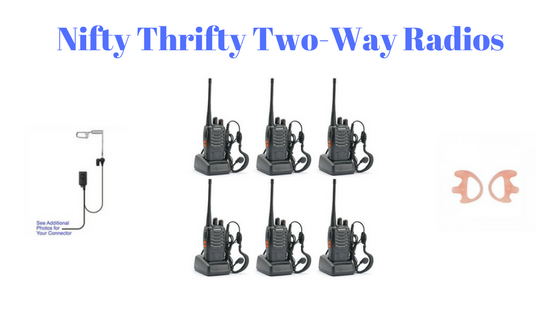 Nifty Thrifty Two Way Radios - In-Office Communications - The Nifty Thrifty Way