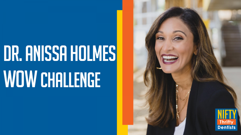 Dr. Anissa Holmes & the WOW CHALLENGE