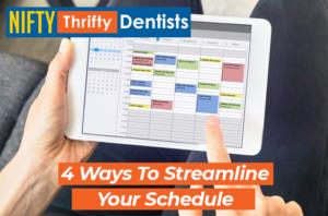 schedule,patient,dental,dentist,nifty,thrifty