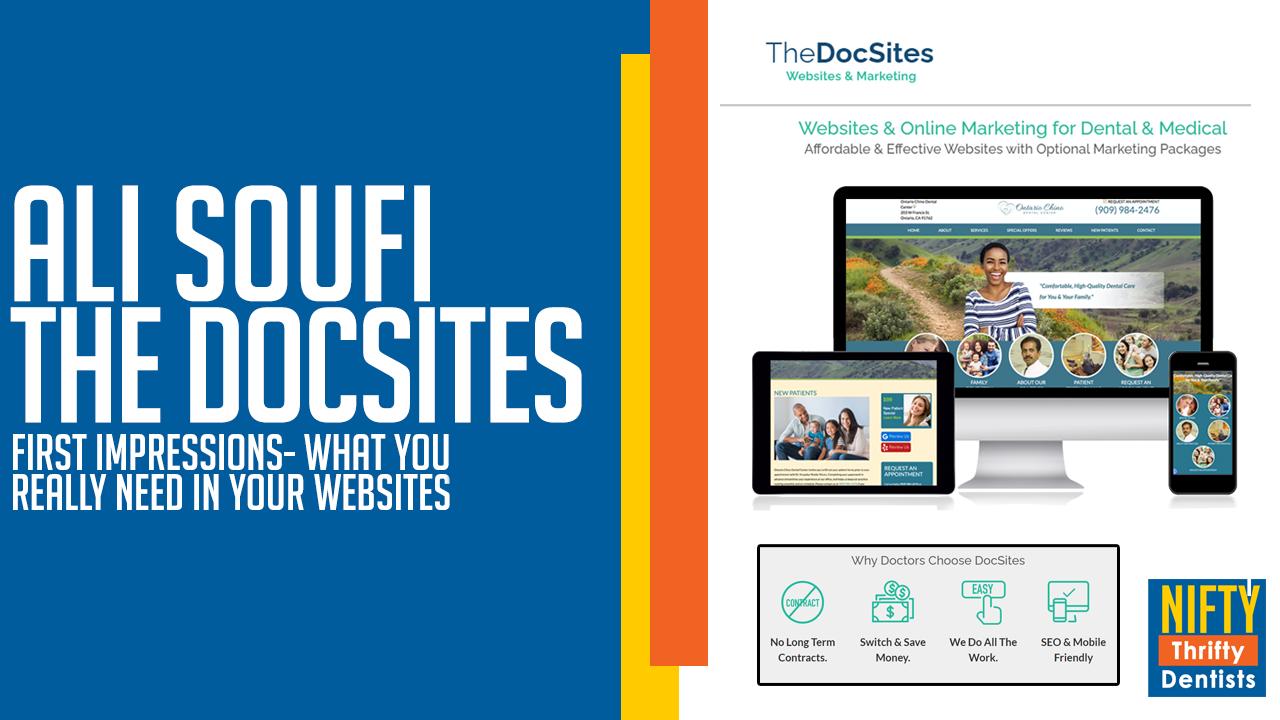 DocSites,Ali Soufi,dental website
