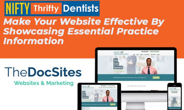 Make Your Website Effective By Showcasing Essential Practice Information