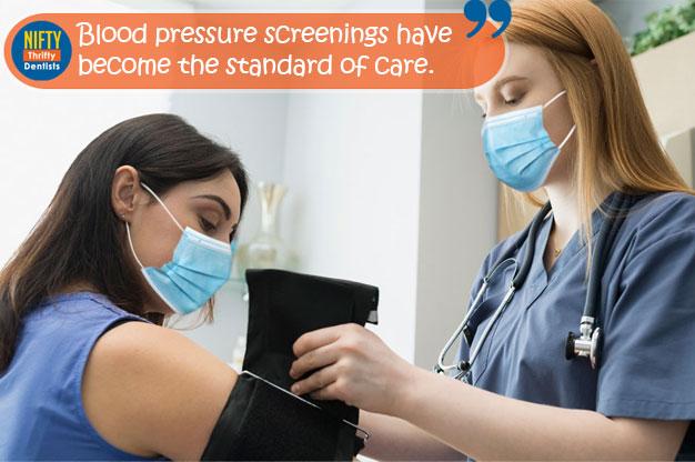 blood presure screening